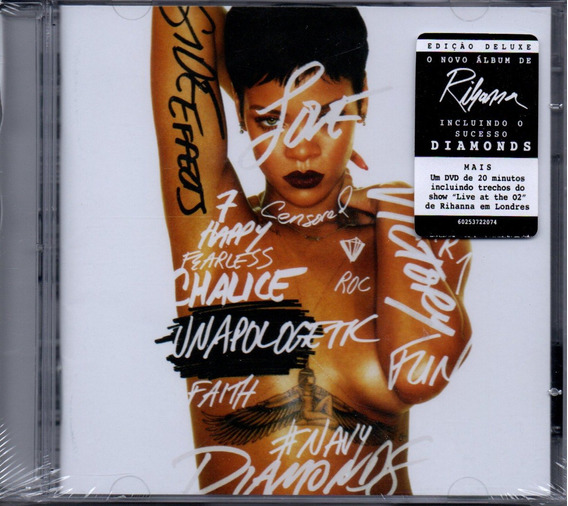 Cd Rihanna - Unapologetk Cd Duplo