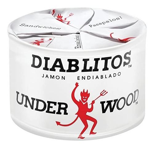Diablitos  Underwood Jamón Endiablado Producto Venezolano