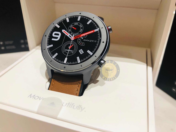Relógio Amazfit Gtr Preto 47 Mm Aluminium Alloy 12x S Juros