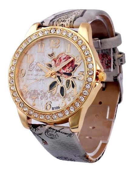 Promoção Relógio Gilt Digital Quartz De Couro Casual