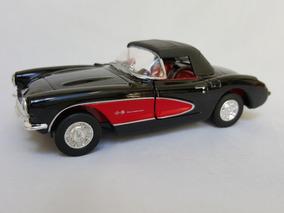 Miniatura Carro Corvette 1957 P/ Colecionadores -novo
