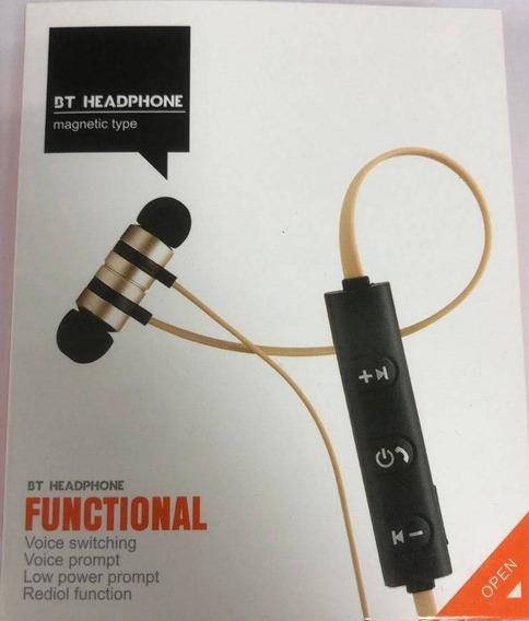 Fone De Ouvido Bt Sem Fio Headphone