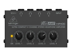 Amplificador De Fones Ha 400 Powerplay Ha400 - Behringer +nf