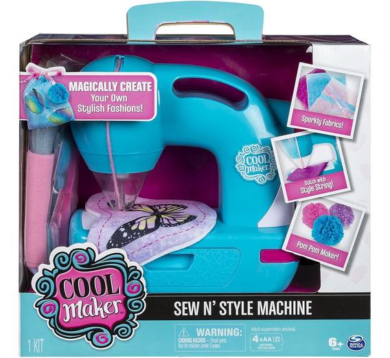 Maquina De Coser Cool Maker   Crea Tus Propios Diseños