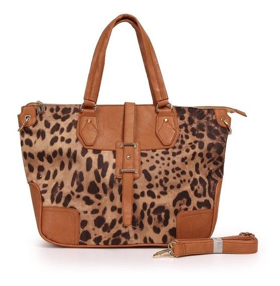 Cartera Doble Tira Shopping Bag Eco Cuero Diseño New 2019!