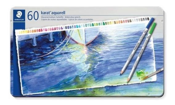 Staedtler 125 Karat® Aquarel | Caixa 60x Lápis Aquarela