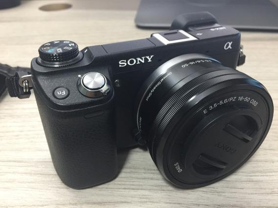Camera Sony Nex 6-kit De Lentes -2 Baterias -micro Sd -saco