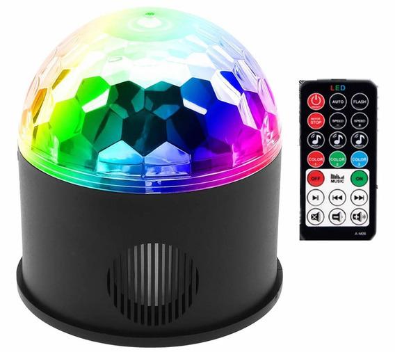 Bluetooth +speaker Party Light Disco Lights 9 Colors 9w Magi