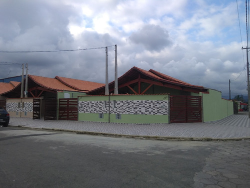 Casa Nova Em Mongaguá R$ 185,900