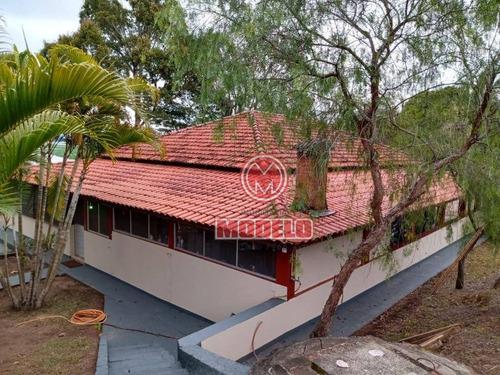 Chácara Com 2 Dormitórios À Venda, 5650 M² Por R$ 350.000,00 - Tanquã - São Pedro/sp - Ch0034