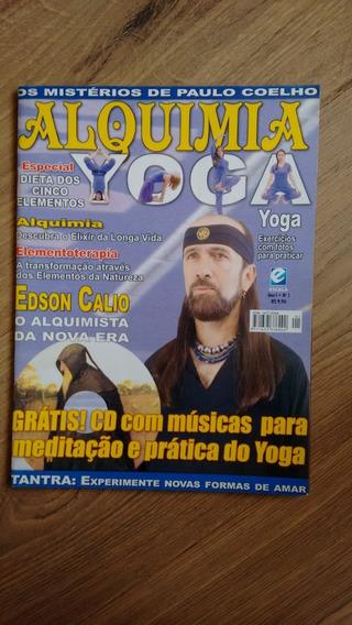 Revista Alquimia Edição 1 Yoga Edson Calio Meditação N423