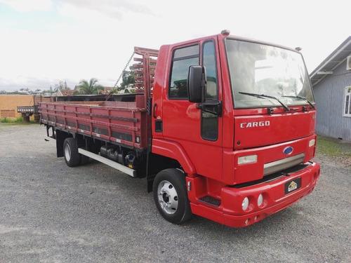 Ford Cargo 816 S Único Dono Carroceria 6,20m 2013