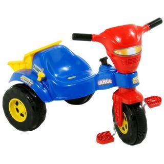 Velotrol Tico Tico Cargo Com Caçamba Menino - Magic Toys