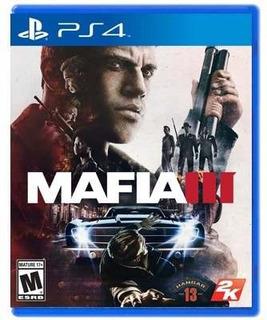 Mafia Iii - Ps4 Juego Físico - Sniper Games