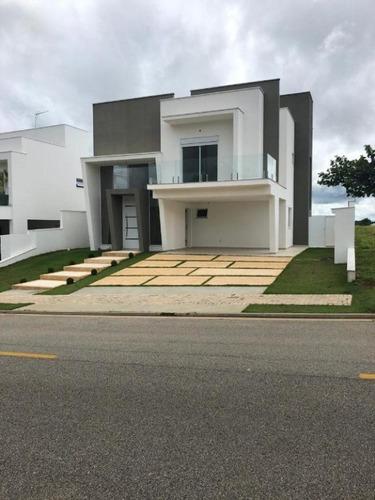 Sobrado Com 3 Dormitórios À Venda, 300 M² Por R$ 1.290.000 - Alphaville Nova Esplanada Iii - Votorantim/sp, Próximo Ao Shopping Iguatemi. - So0158 - 67640240