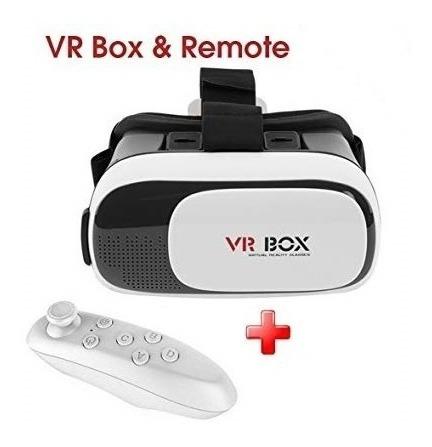 Lentes De Realidad Virtual Y Control Bluetooth