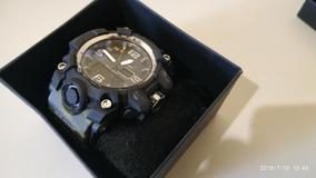Relógios Esportivos Camuflado + Caixa Com Espuma!!!!