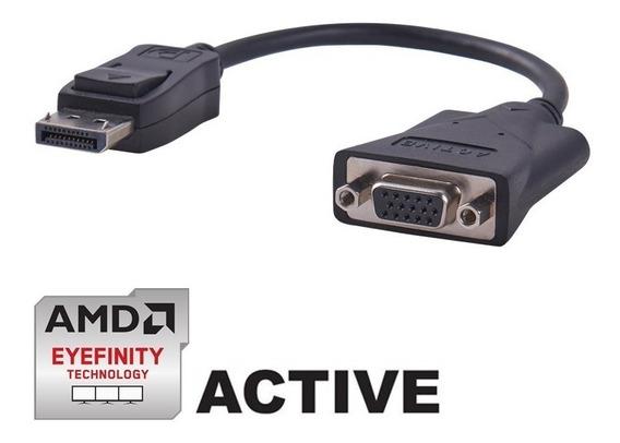Adaptador Displayport Vga Ativo 60hz | Amd Ati Eyefinity