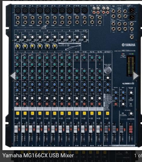 Mesa Yamaha Mg166cx Usb