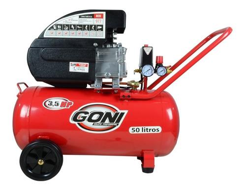 Compresora Goni 977 3.5 Hp Tanque De 50 Litros