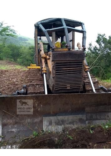 Trator De Esteira Komatsu D60 E - Ano 1988 - C/ Grade