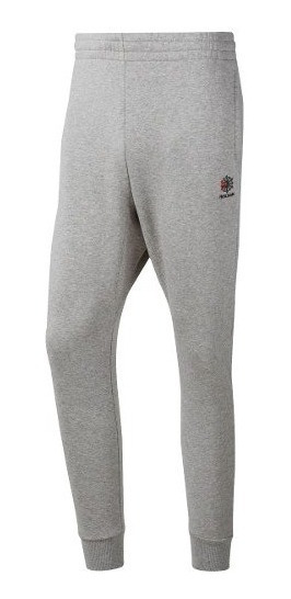 Pantalon De Hombre Reebok Classic Leather Fleece