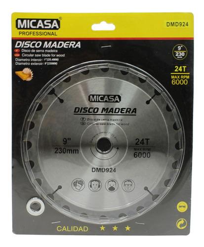 Disco Para Madera 9  230 Mm - Mi Casa - El Regalón