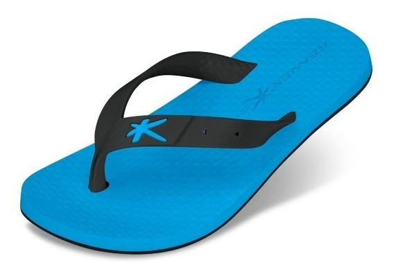 Chinelo Kenner Infantil Joy Summer Azul