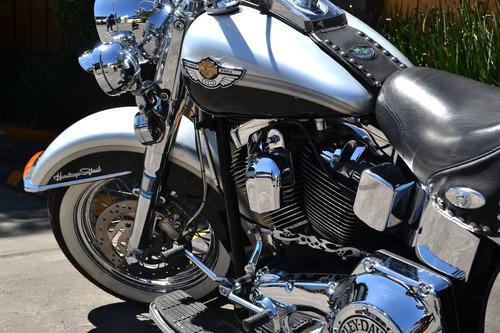 Imagen 1 de 15 de Espectacular Harley Softail Heritage Conmemorativa 100 Años