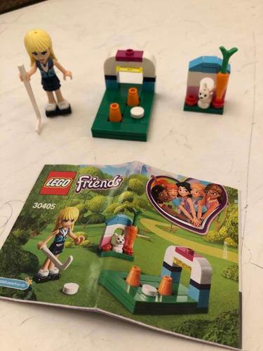 Lego Friends Entrenamiento De Hockey. Modelo 30405.
