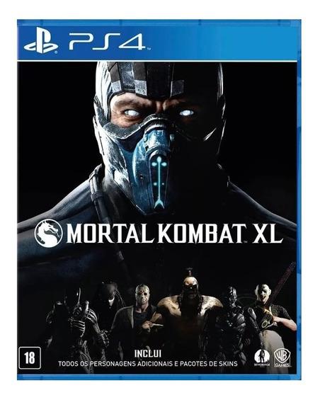 Mortal Kombat Xl Ps4 Jogo - 1ª Original Psn Promoçao