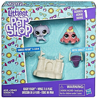 Littlest Pet Shop Beachy Peachy Series 1