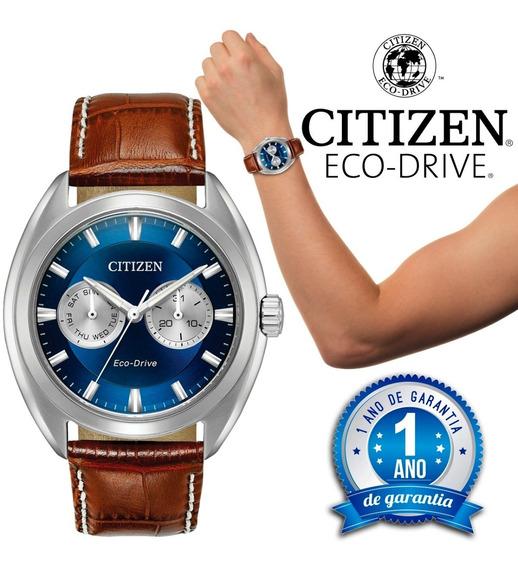Relógio Citizen Eco Drive Bu4010-05l Tz21027f 100m Novo