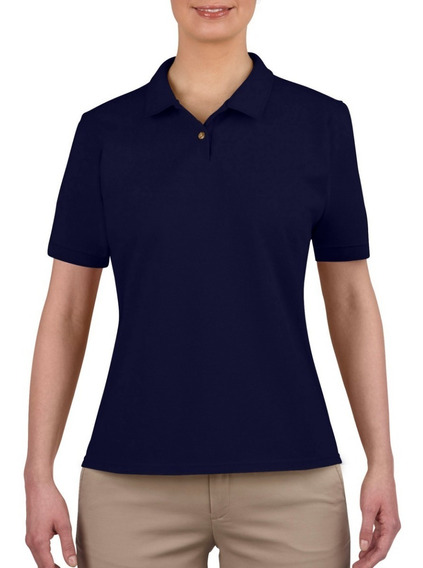 Playeras Polo Lisa Dama Ultra Cotton National Style