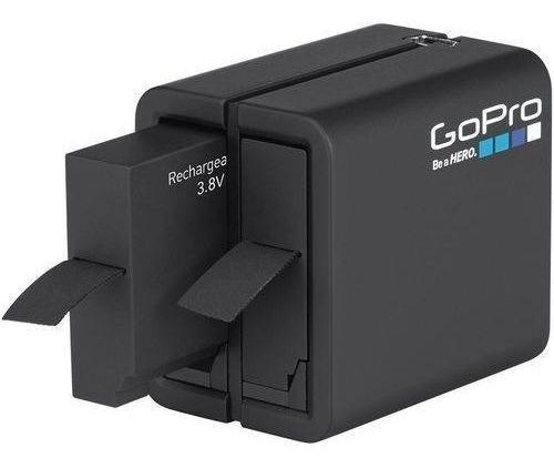 Carregador Dual+bateria P/ Gopro Hero 5/6/7 Black Aadbd-001