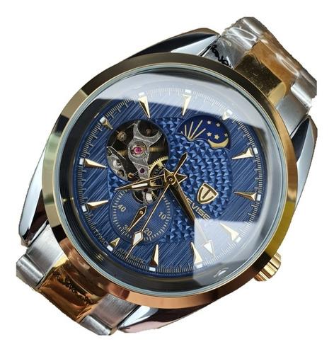 Reloj Tevise 795c Caballero 100% Original Pulsera Acero