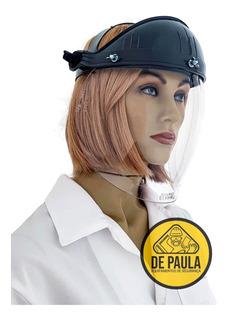 Protetor Facial Rosto Bolha Apolo Master Carpir/ Roçadeira