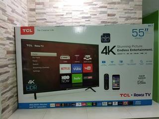 Tv Tcl Hdr 4k 55 Pulgadas