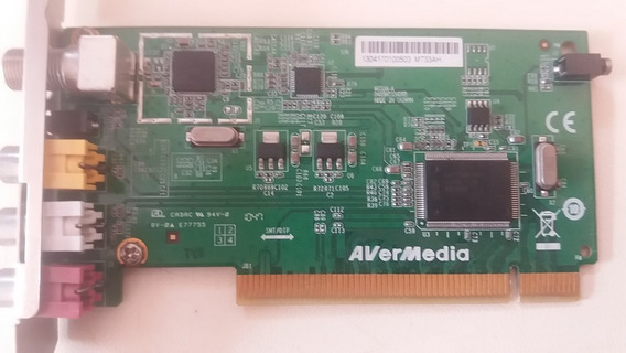 Placa De Captura Analóg Tv - Avermedia M733a