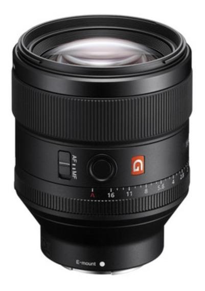 Lente Sony Fe 85mm 1.4 Gm Full Frame