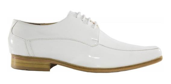 1 Sapato Social Masculino Luxo Branco Medico Enfermeiro