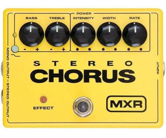 Pedal Mxr M 134 Stereo Chorus Dunlop M134