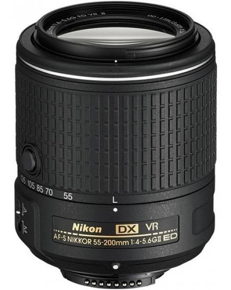 Lente Nikon Af-s Nikkor 55-200mm F 4-5.6g Ed Vr Ii Dx