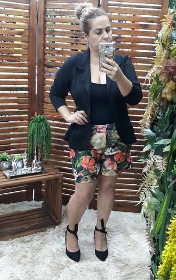 Blazer Feminino Kit Com 3 Plus Size