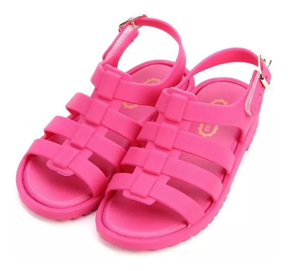 Zapato Niña Mini Melissa Sandalia 14.4 Cm Al 17 Cm