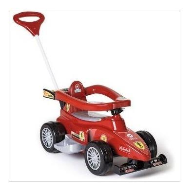 Veículo Para Bebê Super Formula 2 Em 1 Vermelho Calesita