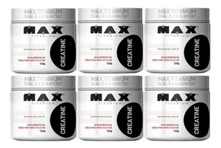 Super Combo 6x Creatinas Max Titanium - Atacado