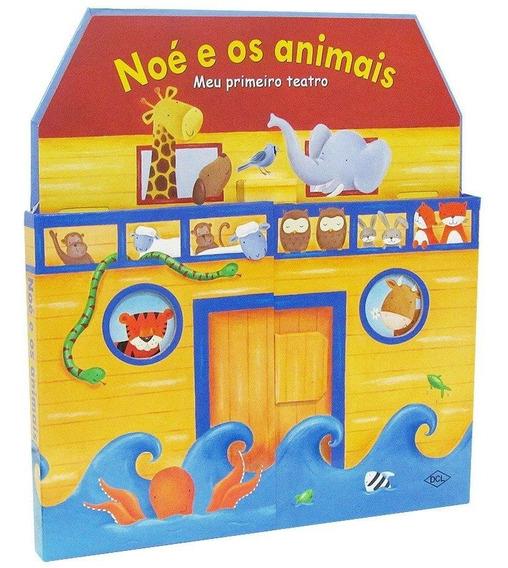 Livro Interativo Noé E Os Animais Meu Primeiro Teatro