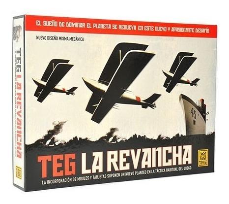 Teg La Revancha Tributo Caja Gris