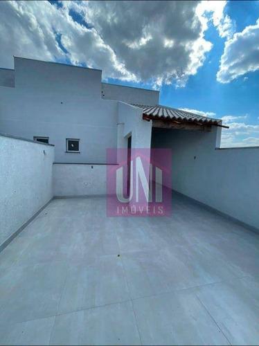 Imagem 1 de 8 de Cobertura Com 2 Dormitórios À Venda, 86 M² Por R$ 320.000,00 - Cidade São Jorge - Santo André/sp - Co0865